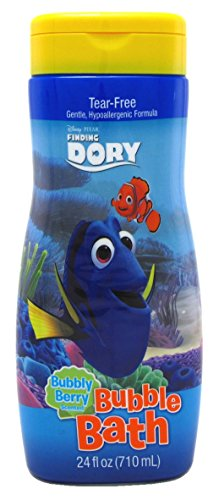 Finding Dory Bubble Bath 24 Ounce Bubbly Berry (Disney Bubble Bath)