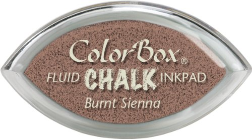 ColorBox Chalk Cat's Eye Ink Pads, Burnt - Chalk Ink Fluid Pad