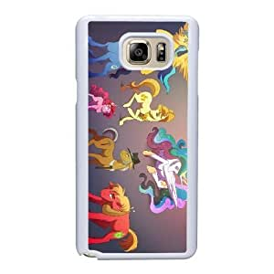 Fashion image DIY for Samsung Galaxy Note 5 Cell Phone Case White My Little Pony Best Gift Choice For Birthday HMB3473131