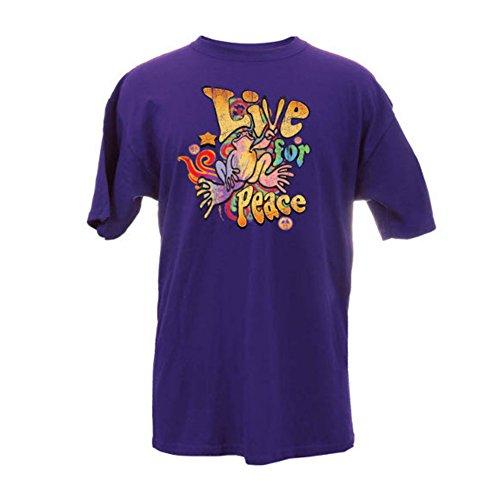 peace-frogs-adult-live-for-peace-short-sleeve-t-shirt