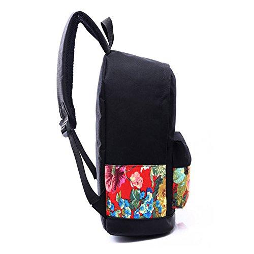 Lenfesh - Bolso mochila  de Lona para mujer a
