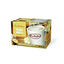 Tim Hortons (K-Cup) Single Serve French Vanilla Cappuccino Coffee Cups (8-Count)