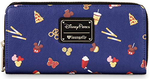 Disney Parks Loungefly Park Treats Food Icons Wallet