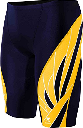 TYR  Men's Phoenix Splice Jammer Swimsuit (Navy/Gold, - Shop Aus Online