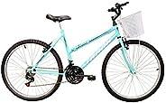 Bicicleta Aro 26 Serena Anis 21v MTB com Cesta, Track Bikes