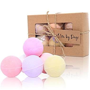 Premium Muscle & Therapy Set, All Natural Bath Bomb Gift Set, 6 (4 oz Balls) Lush, All Natural, Gift Basket, Unisex - Essential Oils & Therapeutic Salts - FREE Silk Paper in Each Set of 6, Organic