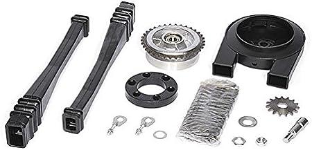 Satz Antriebsteile Kr51 2 14 Teile Kette Kettenschutz Kettenschlauch Mitnehmer Ritzel Usw Auto