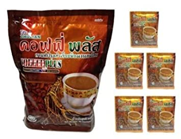 Other Coffee Zhulian With Ginseng Health Care Instant Coffee Powder Plus 20gm Home & Garden