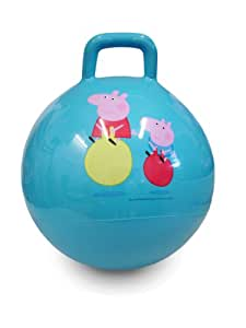 Mookie Peppa Pig Sit n Bounce - Pelota con asas para saltar