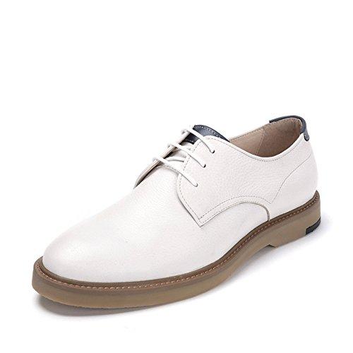 Cabeza zapatos hombres de primavera/Zapatos casuales de la moda de Inglaterra blanco
