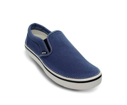 Crocs Hover Slip On, Baskets mode mixte adulte (Bijou Blue/White)