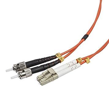 iggual IGG311561 10m LC ST OM2 Naranja Cable de Fibra optica - Cable de Fibra óptica