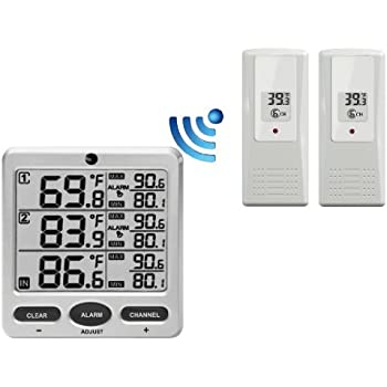 Multi room thermometer
