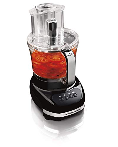 Hamilton Beach 12-Cup Food Processor, with Additional 4-Cup Bowl & Big Mouth Feed Tube  (70580)