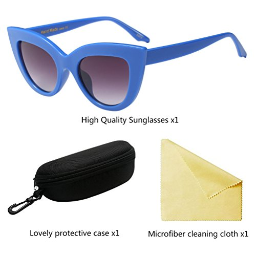 Zhhlaixing Retro Sol Eye Mujeres UV Protection de Blue Eyewear Eyeglasses Cat Designer Gafas wXwqrFB