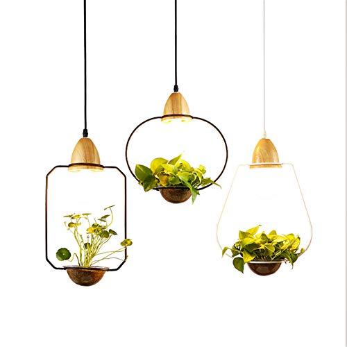Metal Flower Pendant Light in US - 7