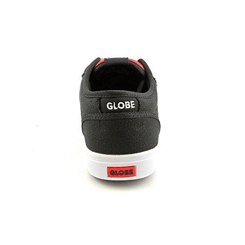 Size Globe Black Kids Boys Motley 1 Skate Skate Shoes Youth Textile xqrwrIYBS