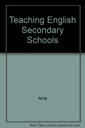 Teaching English Secondary Schools