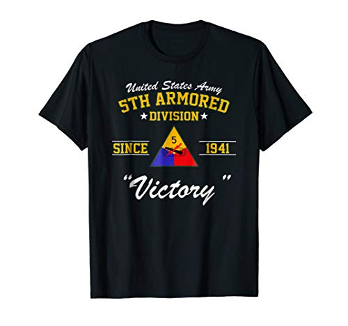 5th Armored Division Shirt (5th Armored Division Battle Of The Bulge)