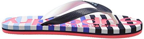 Pink Flop Hazard Eva Dark Navy Superdry Women's Flip Optic Multicolore Sandals COnwPqzWZ