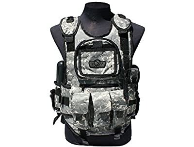 GenX Global Deluxe Tactical Paintball Vest - ACU