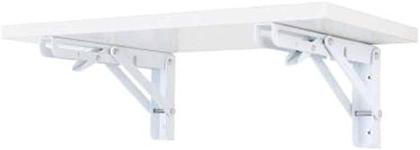 Mesa suspendida para Colocar en la Pared con 2 Soportes Tablero ...