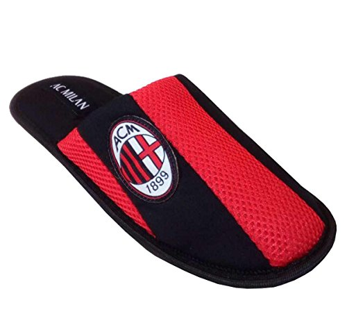 ac Milan , Chaussons pour homme rouge rouge
