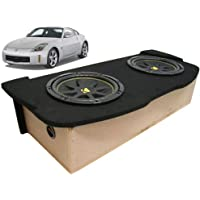 ASC Package 03-08 Nissan 350Z Coupe Dual 10 Kicker C10 Subwoofer Hatch Sub Box Enclosure 600 Watts Peak