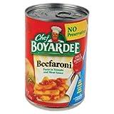 Safety Technology Chef Boyardee Beefaroni Diversion Safe DS-BEEFRONI