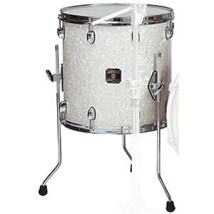 gretsch drums rn1 1414f sw 14 inch drum set floor tom tom satin white musical. Black Bedroom Furniture Sets. Home Design Ideas