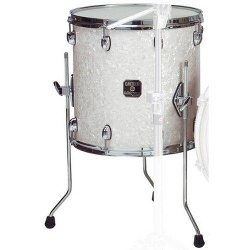 Gretsch Drums RN1-1414F-SW 14-Inch Drum Set Floor Tom Tom - Satin White ()
