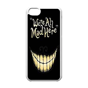 James-Bagg Phone case Alice in Wonderland Protective Case For Iphone 4/4s Style-4
