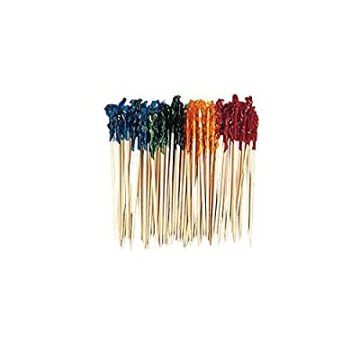 amscan Assorted Sandwich Frills Picks | 50 Ct.: Toys & Games