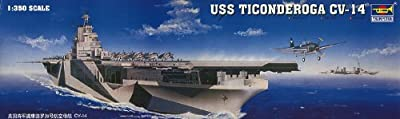 Trumpeter 1/350 USS Ticonderoga CV14 Aircraft Carrier Model Kit