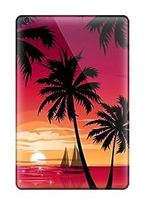 ZippyDoritEduard Scratch-free Phone Case For Ipad Mini/mini 2- Retail Packaging - Magneta Sunset