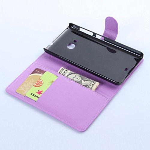 Funda Microsoft Nokia Lumia 535,Manyip Caja del teléfono del cuero,Protector de Pantalla de Slim Case Estilo Billetera con Ranuras para Tarjetas, Soporte Plegable, Cierre Magnético(JFC7-8) D