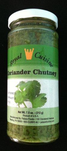 Royal Cuisine Coriander Chutney 7.5 oz. 3-Pack-Vegan