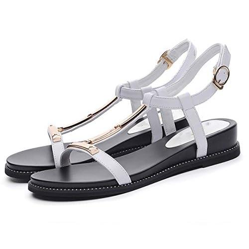 ed39df54 ... Zapatos Casuales Para Mujeres Embarazadas. Outlet. Temperamento Y Moda,  Sandalias Cómodas De Roma, Fondo Plano De Mujer, Moda Simple