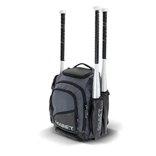Bownet Commando Bat Pack Player's Backpack (Ultimate, Black)