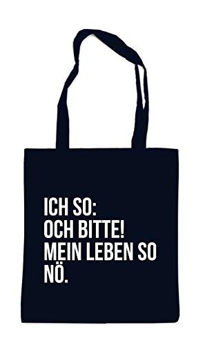 Ich So: Och Bitte! Bag Black