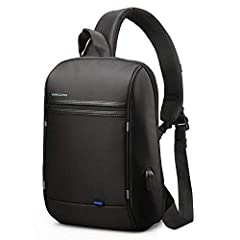 Product Features The Kingsons Anti Theft Slim Sling Backpack features Padded-lined compartments that keep MacBook Pro or MacBook Air, tablet computer, Chrome book(TM) and even your smartphone safe from scratches. In between the device compart...