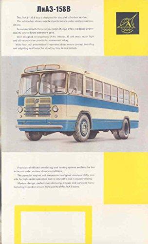 Intercity Bus (1960 MAZ 158B Intercity Bus Brochure Russia)
