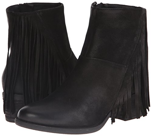 Boho-Chic Vacation & Fall Looks - Standard & Plus Size Styless - STEVEN by Steve Madden Women's Casidyy Boot, Black, 6 M US