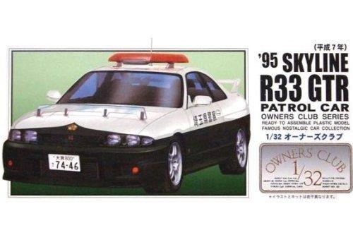 マイクロエース 1/32 オーナーズクラブシリーズ No.59 `95 スカイラインR33GTR 高速パトカーの商品画像