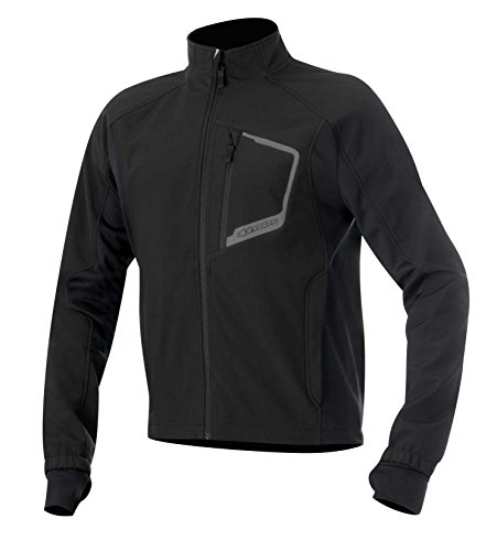 Alpinestars Tech Adult Windstopper/Artic Fleece (Polyester) Layer Top/Jacket, Black, Small/SM