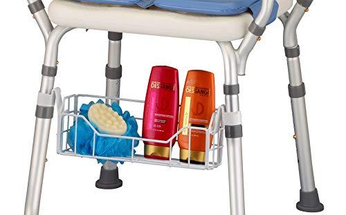 (NOVA Accessory Basket for Bath Seat, Shampoo & Soap Holder for Bath Bench, Universal Fit)