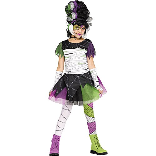 Fun World Monster Bride Child Costume, Multicolor, ()