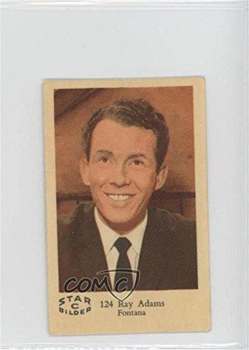 Ray Adams COMC REVIEWED Good to VG-EX (Trading Card) 1962 Dutch Gum Star Bilder C - Food Issue [Base] #124 (Ein Bild Von Ray-ray)