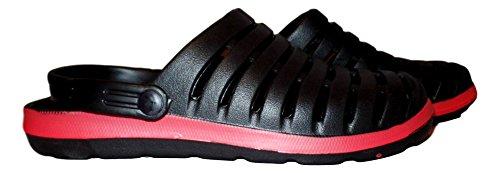101 Beach Moda Hombre Moda Zapatos De Agua Zuecos Negro