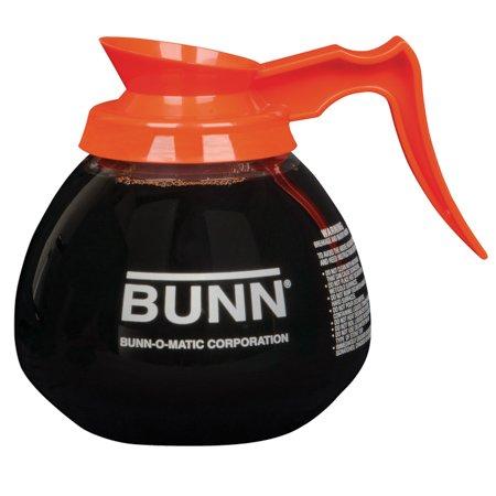 Bunn 42401.0024 64 oz. Glass Decanter with Orange Handle